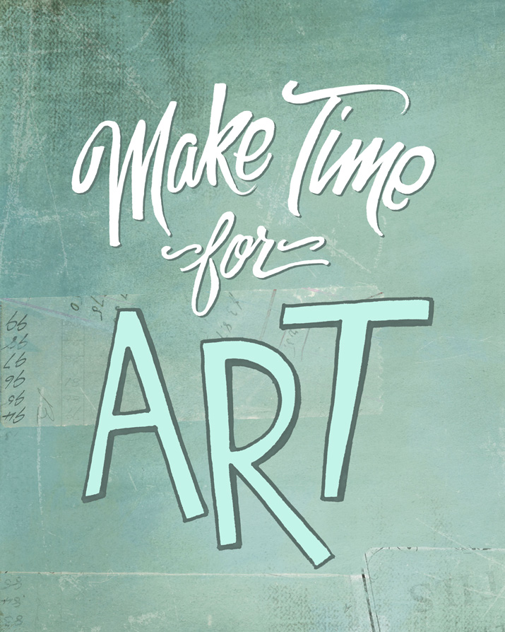 Make Time for Art