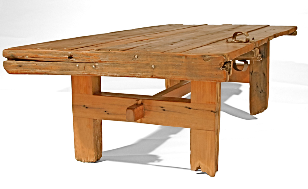 Wood Gate Coffee Table