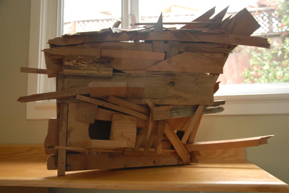 Scrap Wood Birdhouse