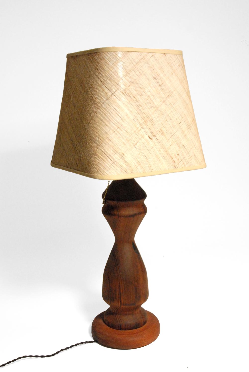 Redwood Lamp