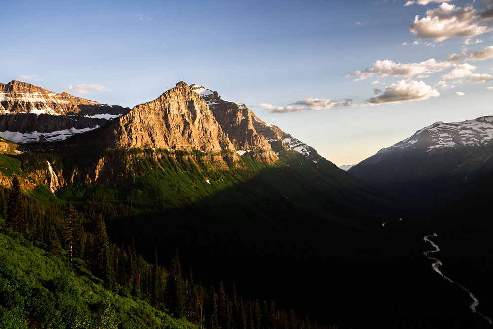 This was one of our photoventures in Glacier National Park on our honeymoon!