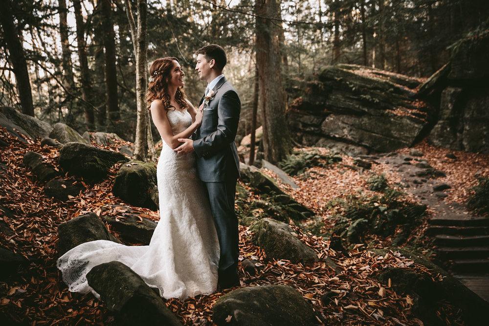 Cuyahoga Valley Wedding Photography at Happy Days Lodge - Peninsula, Ohio - CAMILLE + TYLER