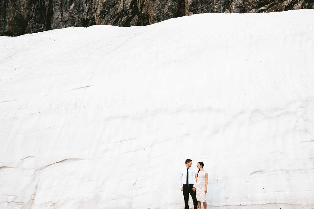 Destination Mountain Wedding PhotographerGlacier National Park - JOELLE + BRIAN