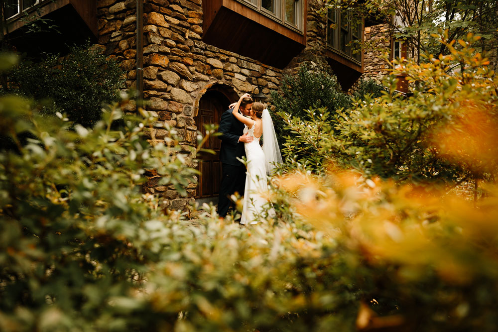 Wedding Photography at Landoll's Mohican Castle in Loudonville, Ohio - Kyna + Vicent