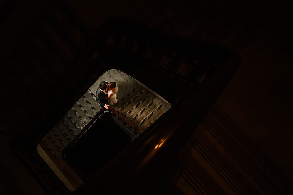 Wedding Photography in Cleveland Crowne Plaza at Playhouse Square - Sara + Daniel