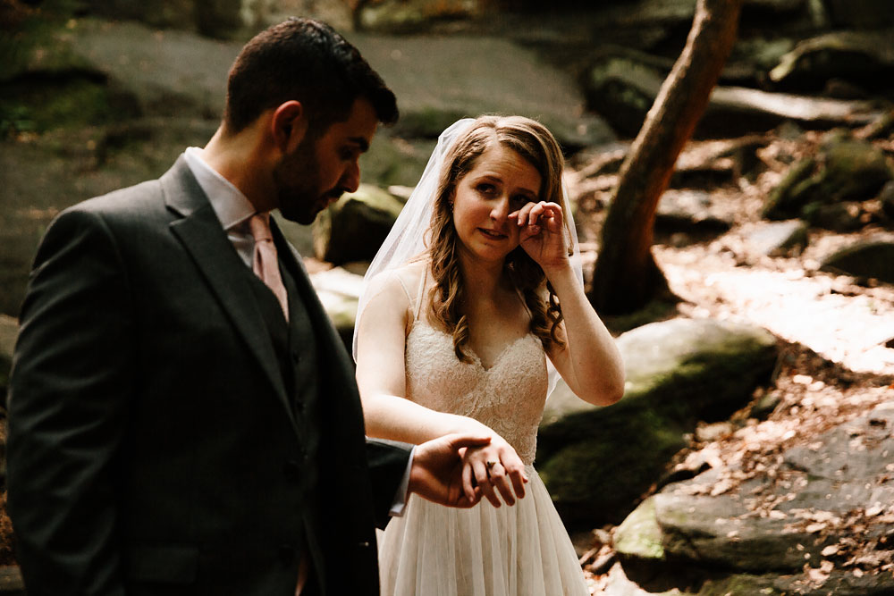 Adventure Wedding Photography at Happy Days Lodge in Cuyahoga Valley National Park - Dana + Danny