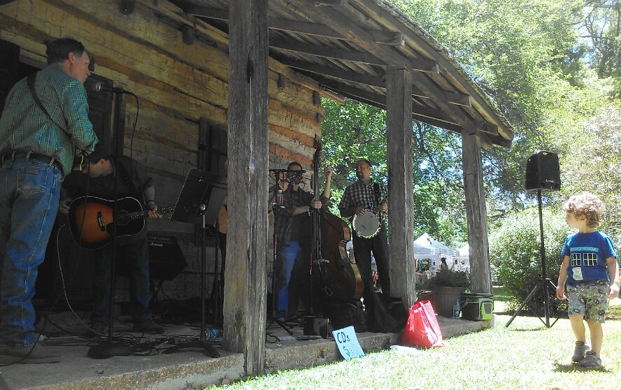 Live Bluegrass at Arts & Crafts Fest