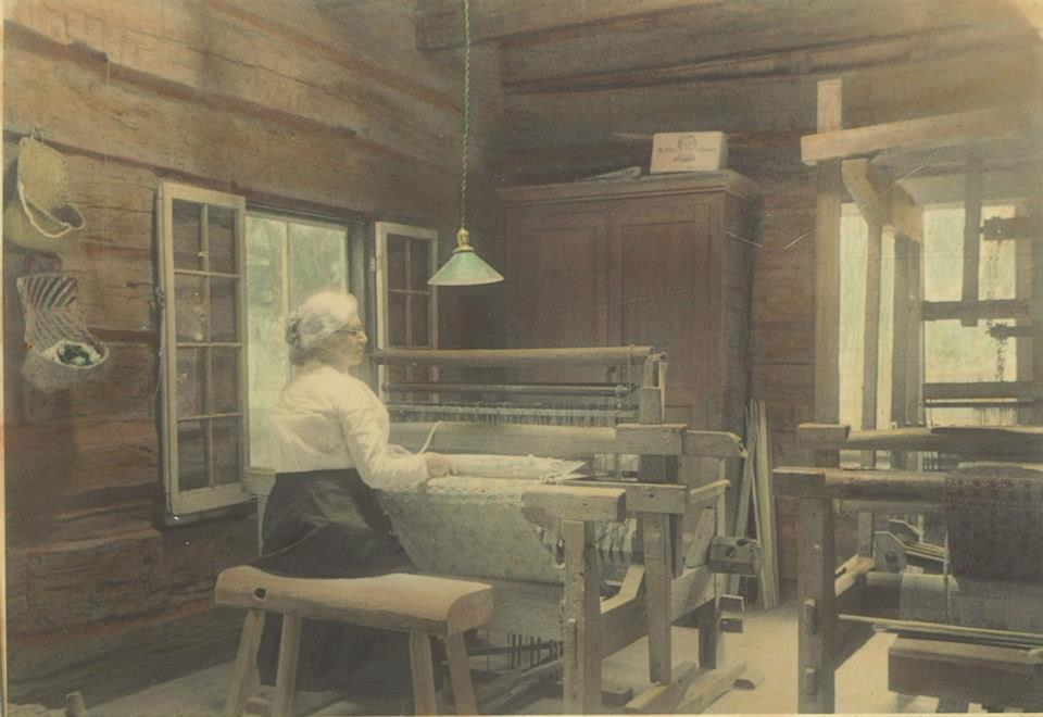 Cammie Henry in the Weaving House (Portrait)