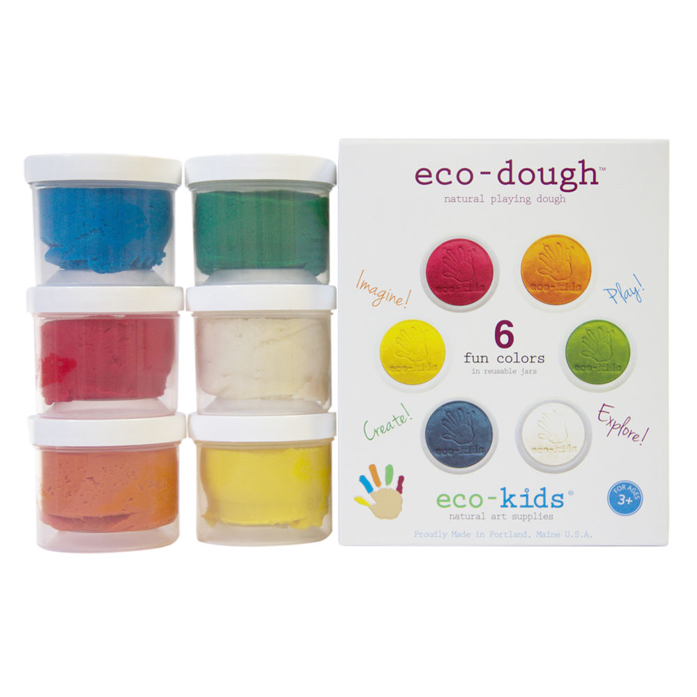 Eco-kids Eco-dough 6 pack