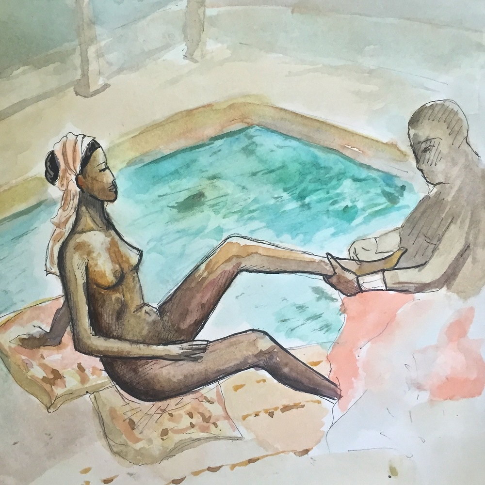 """""""African Bather"""""""