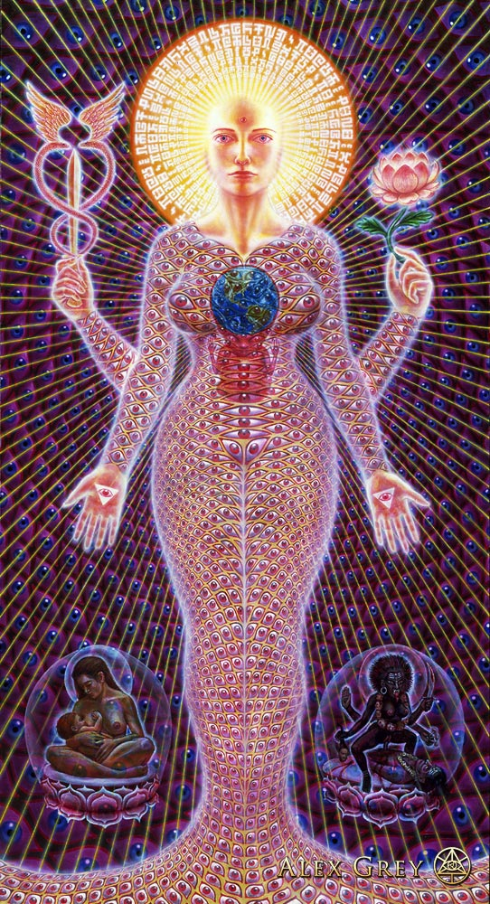Sophia, as depicted by Alex Grey