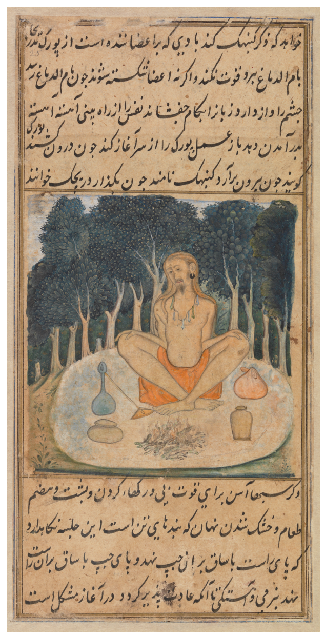 "From the ""Ocean of Life"" book, written to inform Muslims Sufis of Yoga practices."