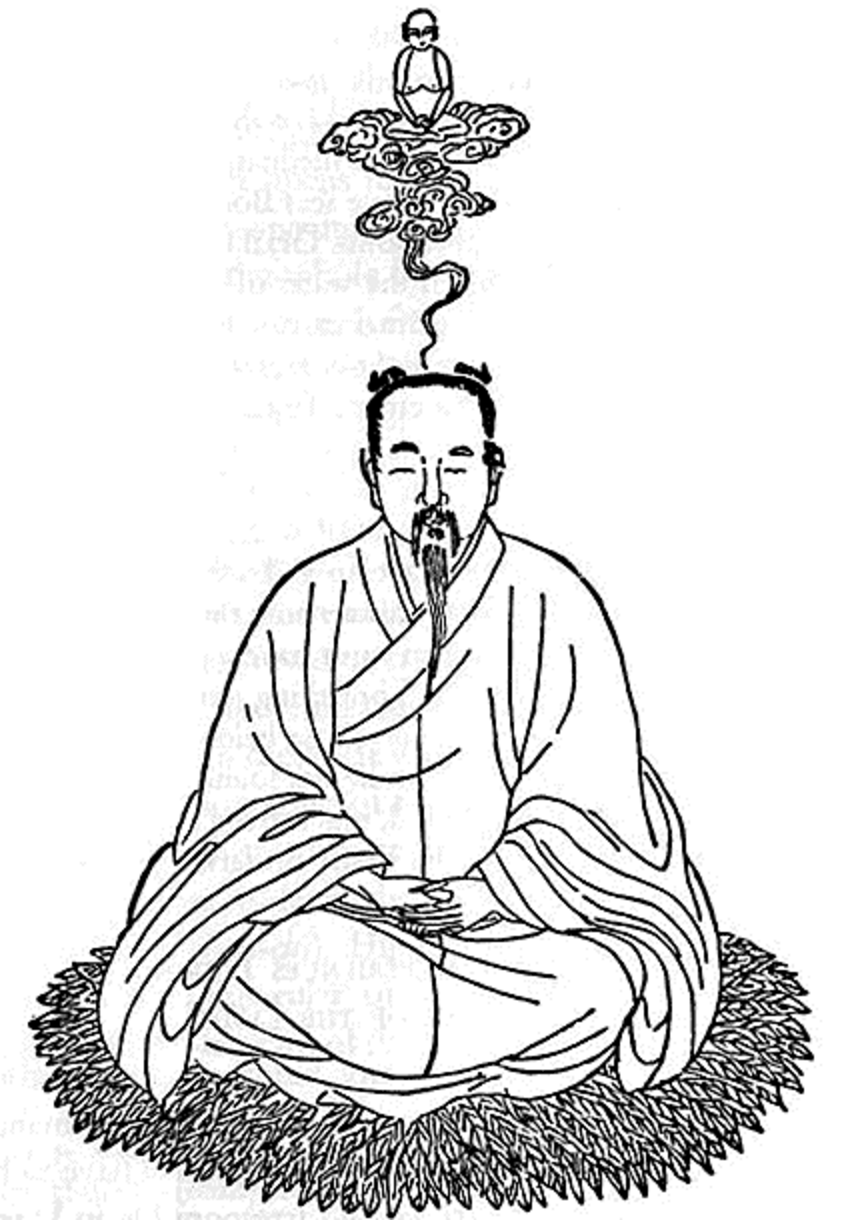 "In the Chinese Alchemical-Yoga book, ""Secret of the Golden Flower,"" describes the transformation of the body and soul, via meditation and the achievement of immortality. This is one metaphor for ""lead to gold."""