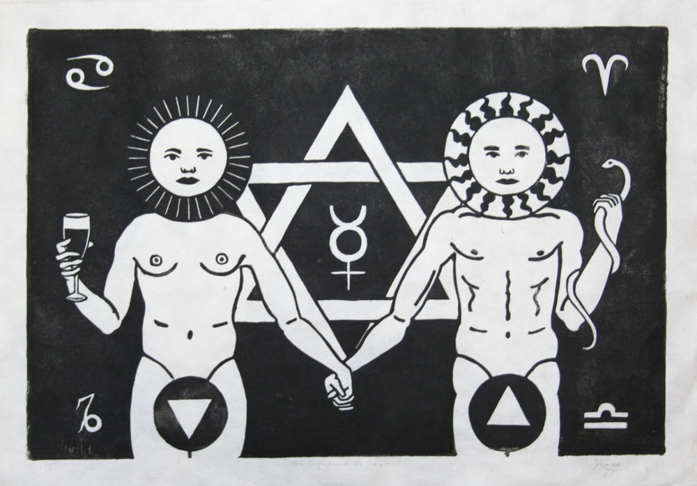 This is a print by the artist Chemical Marriage