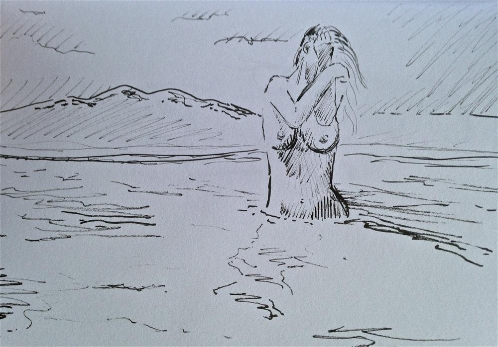 Ocean Bather