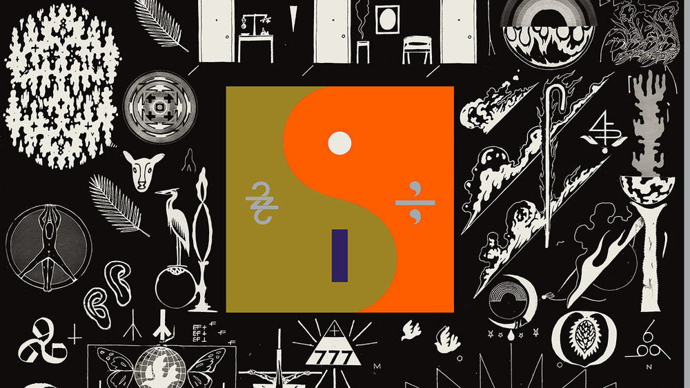 "Artwork for ""22, A Million"" by Bon Iver"