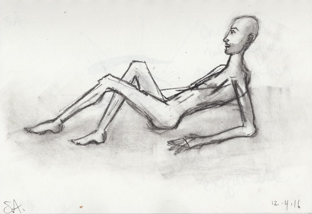 Reclining Self Portrait