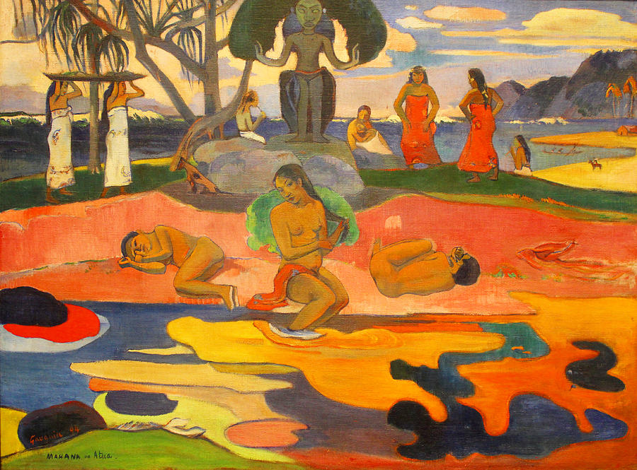 """Day of God,"" Paul Gauguin, 1894 