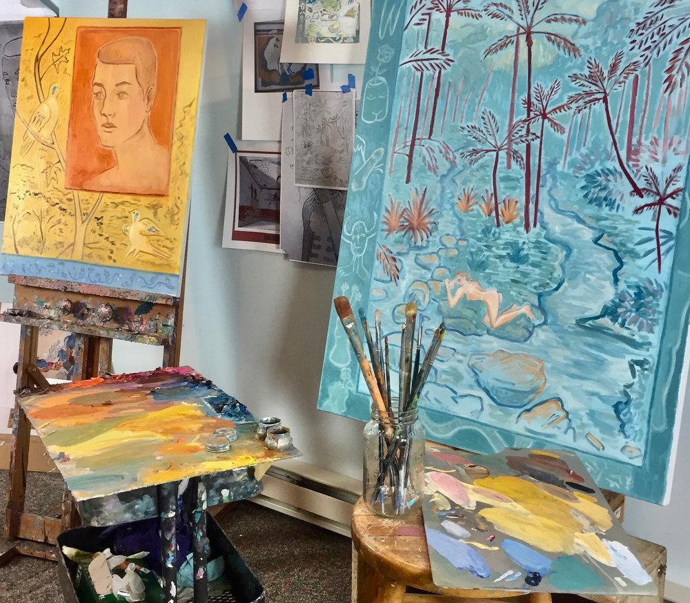Paintings 2018 -