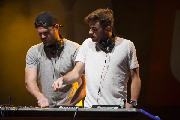 Chainsmokers play at the Commodore on September 5th.