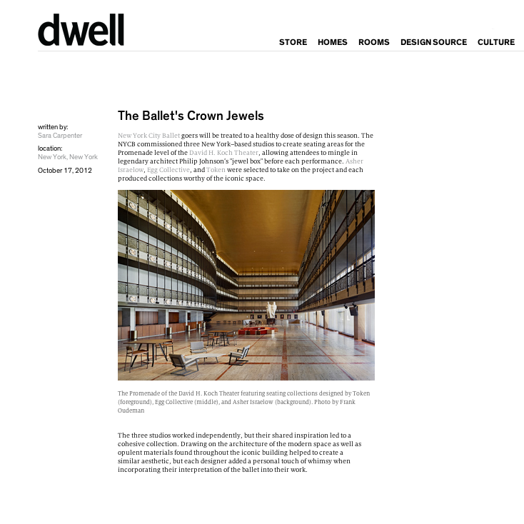 Dwell/October 2012