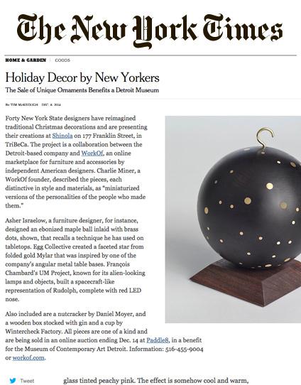 New York Times / December 2014