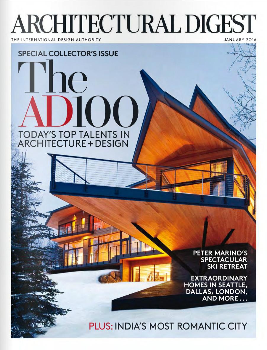 Architectural Digest /December 2015