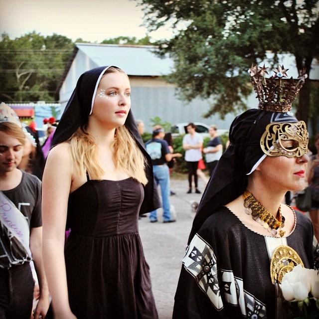 Art Nuns Procession