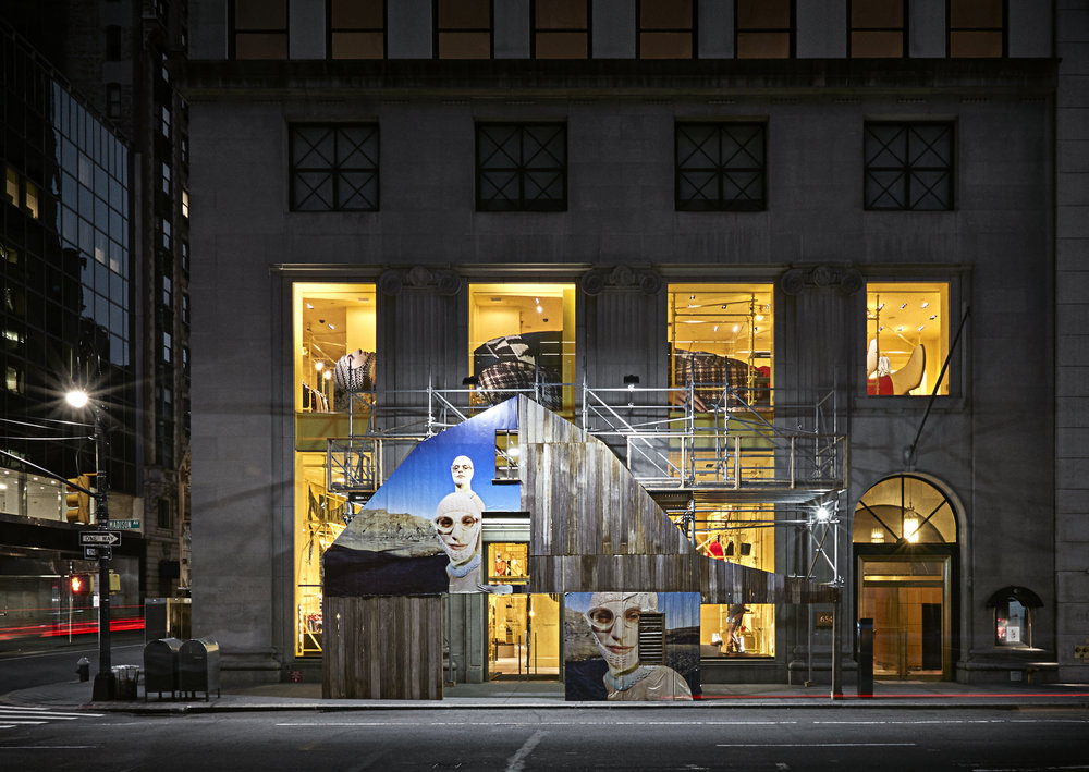 Calvin Klein Madison Avenue Store Photography