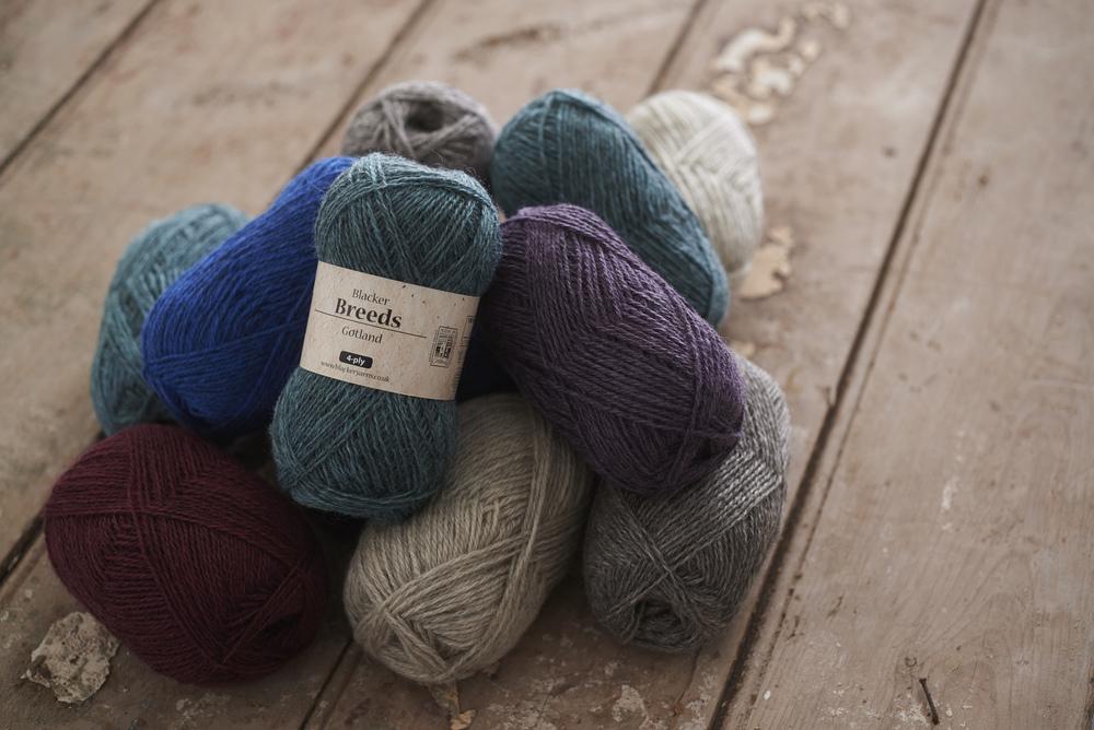Gotland Yarn (Image © Blacker Yarns)