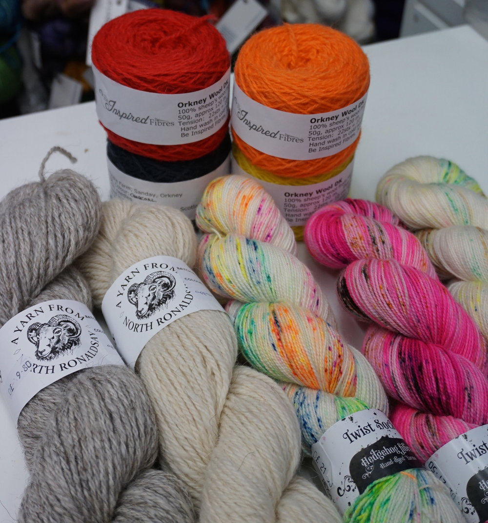Be Inspired Fibres: Local yarn shop based in Edinburgh specializing in leading luxury, hand-dyed yarns and brands from Scotland and around the world for knitting and crochet.