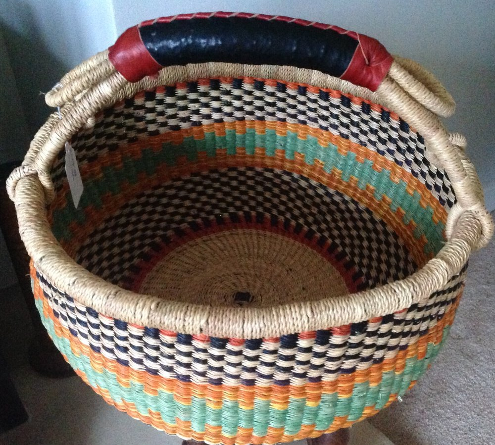 Injabulo: Just one of a range of fabulous baskets on offer from Injabulo. Whether for storing stash or a project, shopping or just for decoration these fairly traded handmade beautiful baskets will bring years of pleasure.