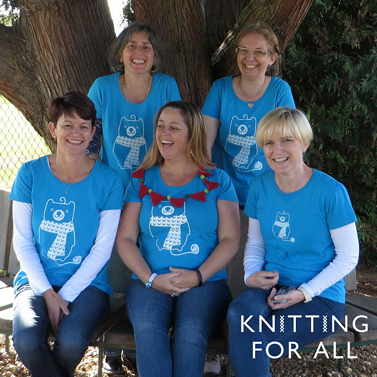 Knitting For All: Visit the friendly Knitting For All team at M5 to find out how you can turn your passion for knitting into a rewarding business.