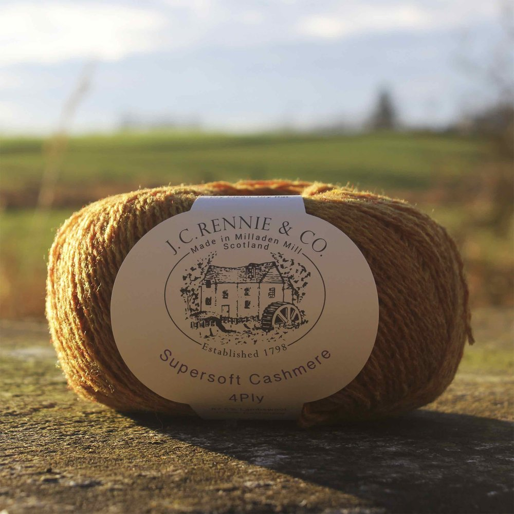 JC Rennie & Co: Since 1798, J.C. Rennie & Co. has been manufacturing woollen spun yarn of uncompromising quality in beautiful Aberdeenshire, Scotland. With heather colours inspired by the Scottish landscape you are sure to find the colours you want at J.C. Rennie & Co.