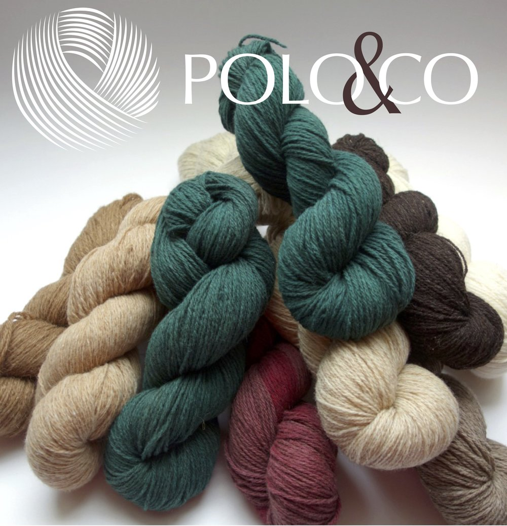 Polo et Co: Polo&Co wool is carded and spin in France, it is rustic and low process spinning  with natural colors or dyed by hand with ecological dyes.