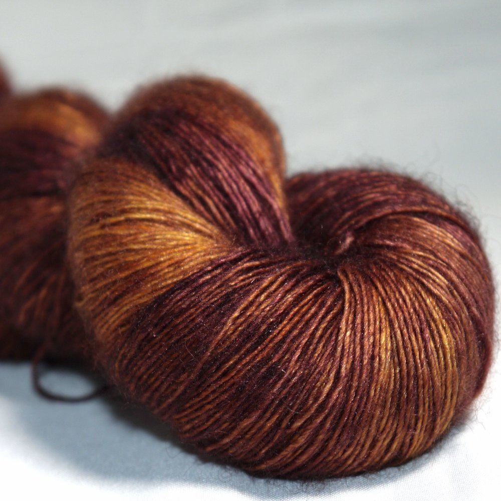 "Ripples Crafts: Offering a range of yarn bases from reliable sock yarn to luxurious yak/silk laceweight, described by customers as ""dappled complex shades"",""jewelled hues"", ""subtle tones"" and ""vibrant colours"". See them at Ripples Crafts."