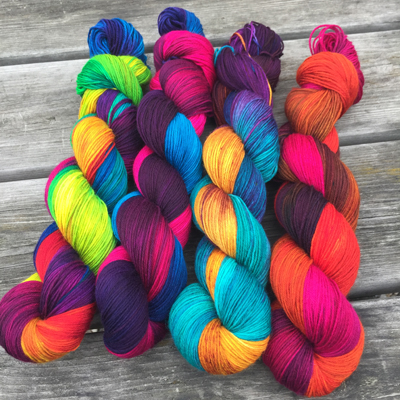 Easyknits.co.uk is delighted to be attending EYF again, bringing along our signature yarn 'Deeply Wicked' so named for its vibrant and vivid colours.