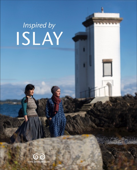 Kate Davies Designs: With 12 new designs brought together with beautiful photography and interesting essays, Kate's new book Inspired by Islay will be available in print at EYF.