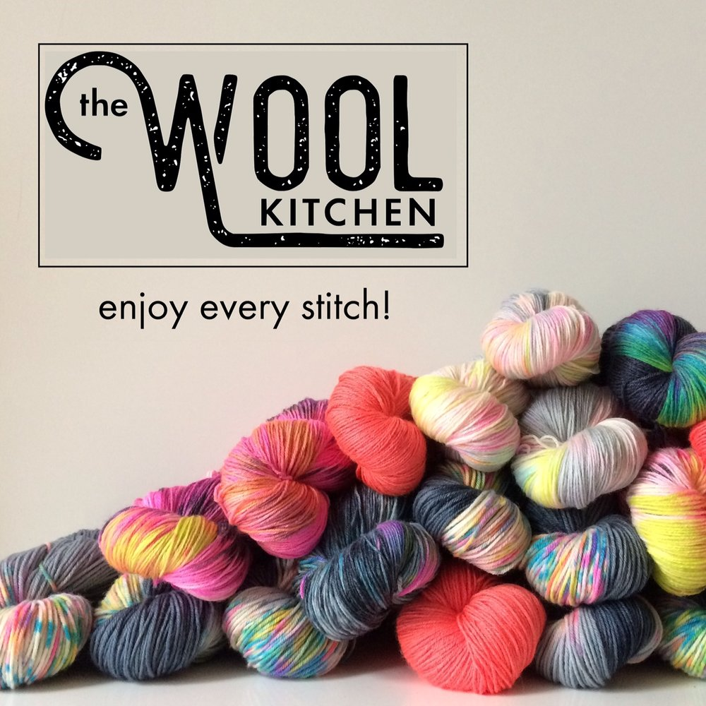 The Wool Kitchen: The Wool Kitchen creates hand-dyed yarns full of exciting colour, using British breeds and luxury merino silk that make you want to knit and crochet! Enjoy every stitch! Pop by, say hi!