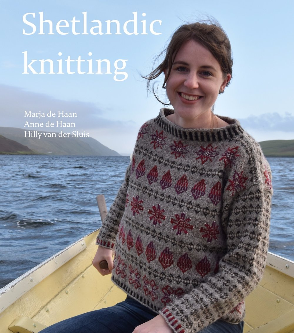 Trollenwol: In this book we tell the story of our search for wool on Shetland. We were inspired by nature, people and sheep on Shetland and this book is the result.