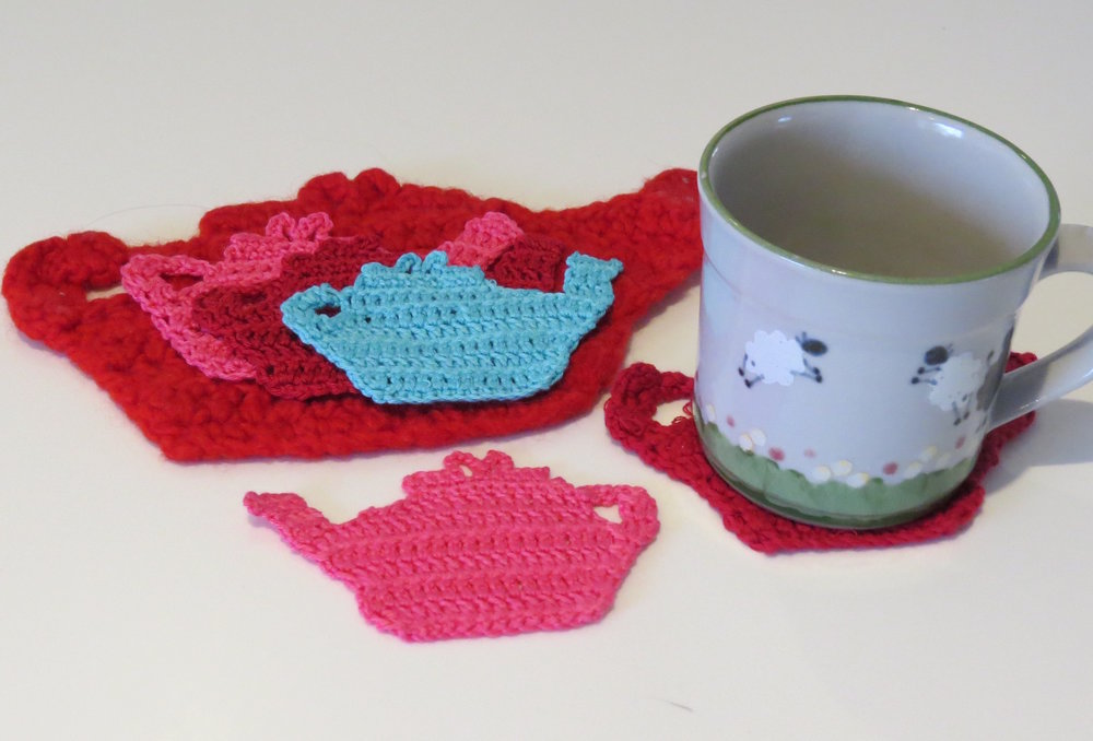 Teapot Trust Coaster with Laura Young - crochet (needs some prior knowledge of crochet) - Friday 10th March at 1.30pm