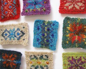 Fair Isle Brooch with Carol Meldrum - knitting - Saturday 11th March at 10.45am