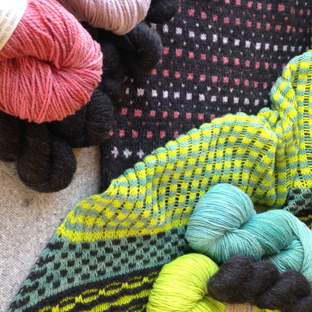 Jill Draper Makes Stuff   Jill Draper Makes Stuff will be bringing her breed specific, hand dyed & 100% US made sheep to skeins yarns to EYF for the first time this year!