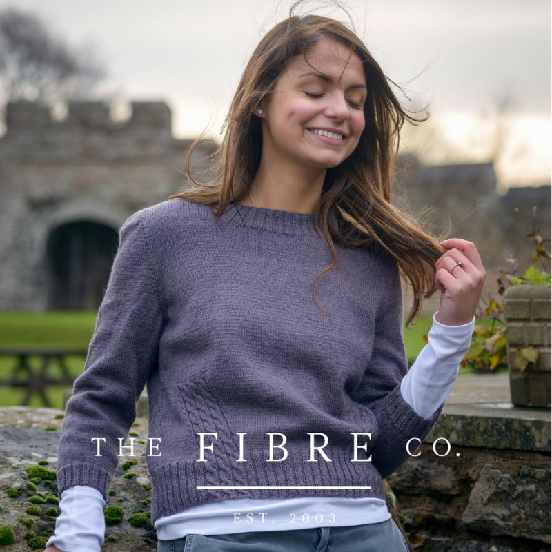 The Fibre Co.   Be the first to see the 30 new designs from @thefibrecompany 's new Foundations collection. We are also bringing you 12 new shades in Luma, our DK weight blend of merino, organic cotton, linen and silk.