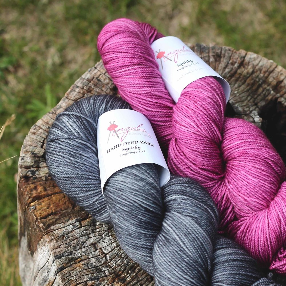 Fig Tree Yarns   Anzula Luxury Fibers from Fresno California are unavailable elsewhere in the UK, and best sellers on the Fig Tree Yarns website.  We are bringing five bases to EYF 2018 with the Anzula passion for colour and quality evident in every skein.