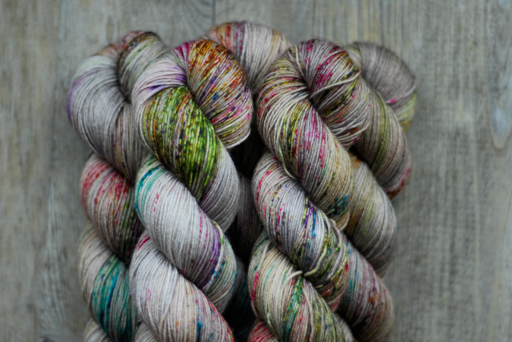 La Bien Aimée   Tough Sock in colour 'Peerie Voe' -  Just one of the many beautiful yarns coming with Parisian yarn shop La Bien Aimée to EYF!
