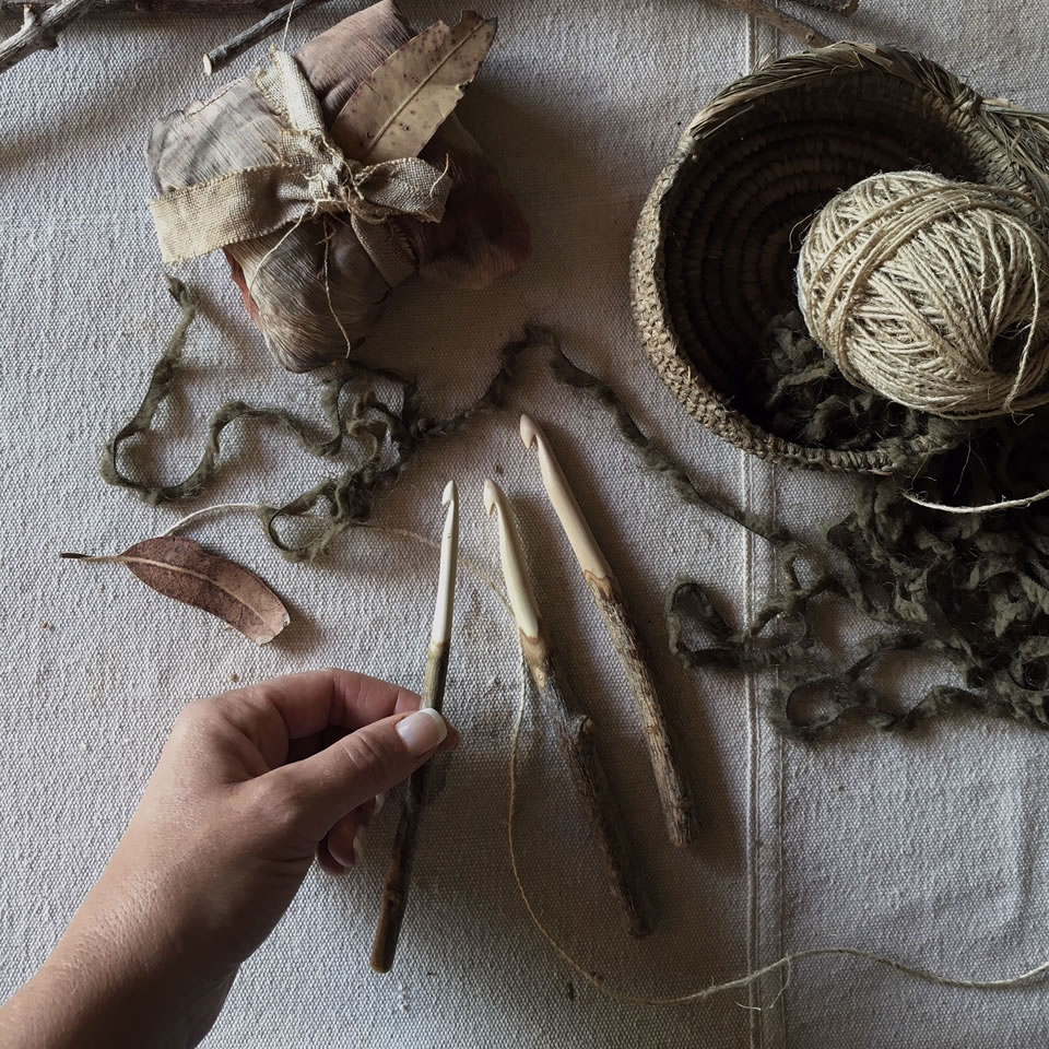 Loop London   Hand carved Olive branch crochet hooks that are made for Loop will be one of the many beautiful finds on their stand. Loop is passionate about beautiful tools. These are lovingly hand crafted and exquisite.