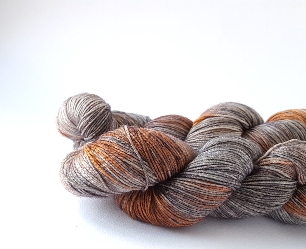 "Rusty Ferret   Rusty Ferret yarns will be at EYF once more — this is ""The Dark Below""!"