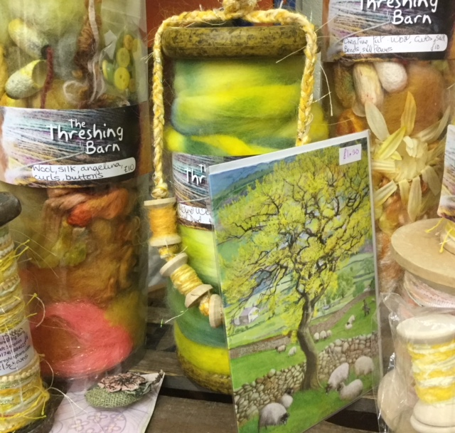 The Threshing Barn   Spring is in the air with our seasonal inspired wools and kits.