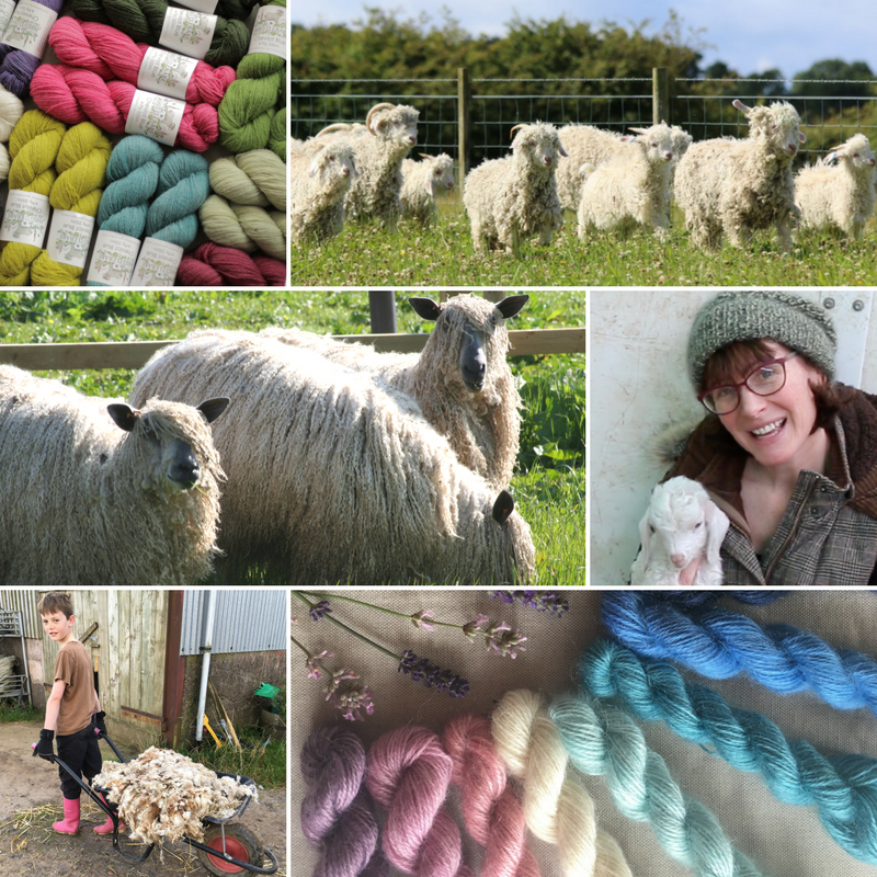 Whistlebare We are so excited about this event! Do come and see us and ask anything you want about our family farm, our animals and of course, our luxurious, hand dyed, British yarn produced with every care for welfare and the environment. We love talking about it!